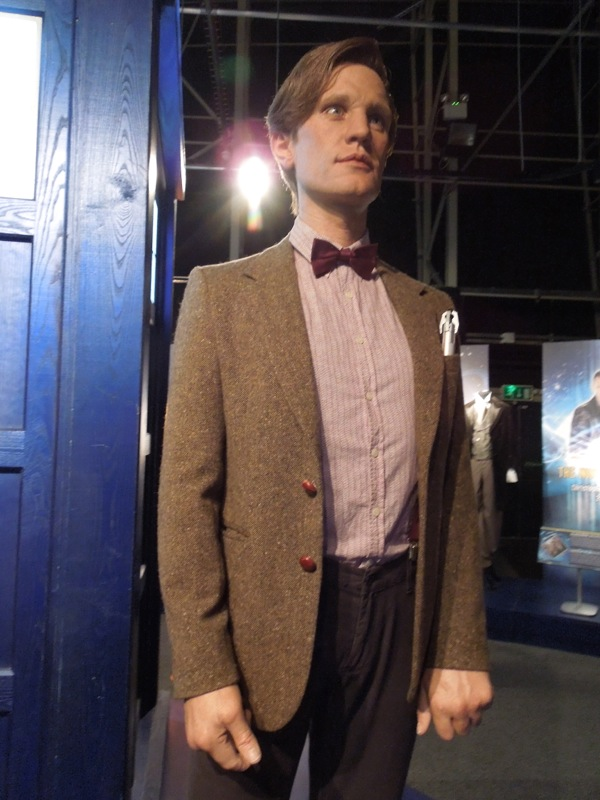 Matt Smith Doctor Who waxwork
