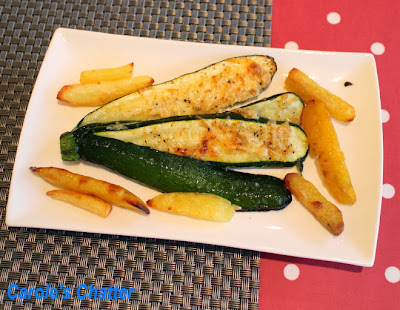 Courgette Fan by Carole's Chatter