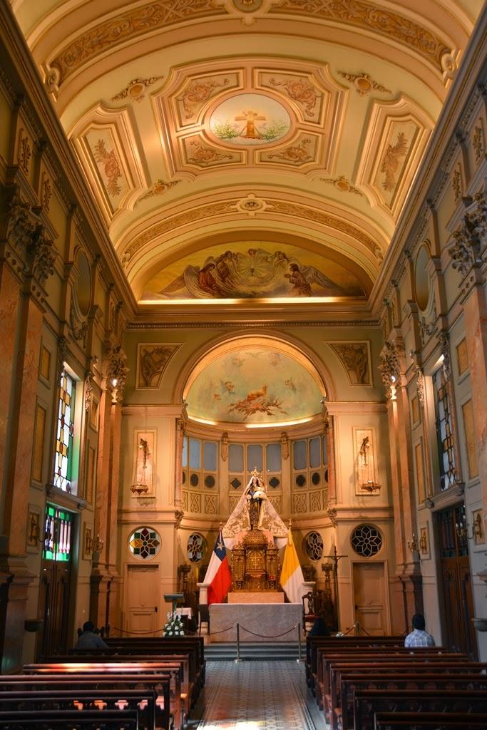 Cathedral of Santiago de Chile chapel