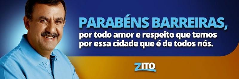 ZITO BARBOSA PARABENIZA BARREIRAS