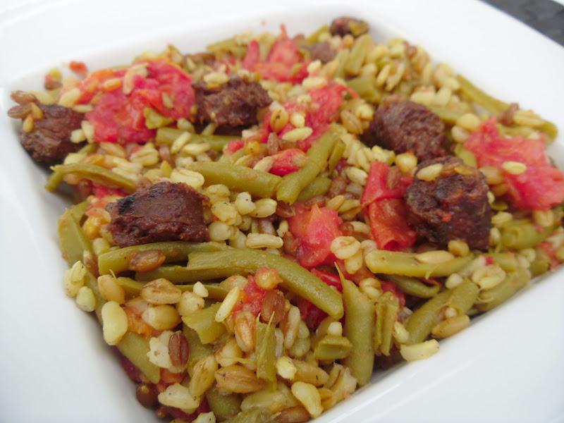 Gourmande ou passionn e po l e 4 c r ales tomates - Cuisiner les haricots verts ...