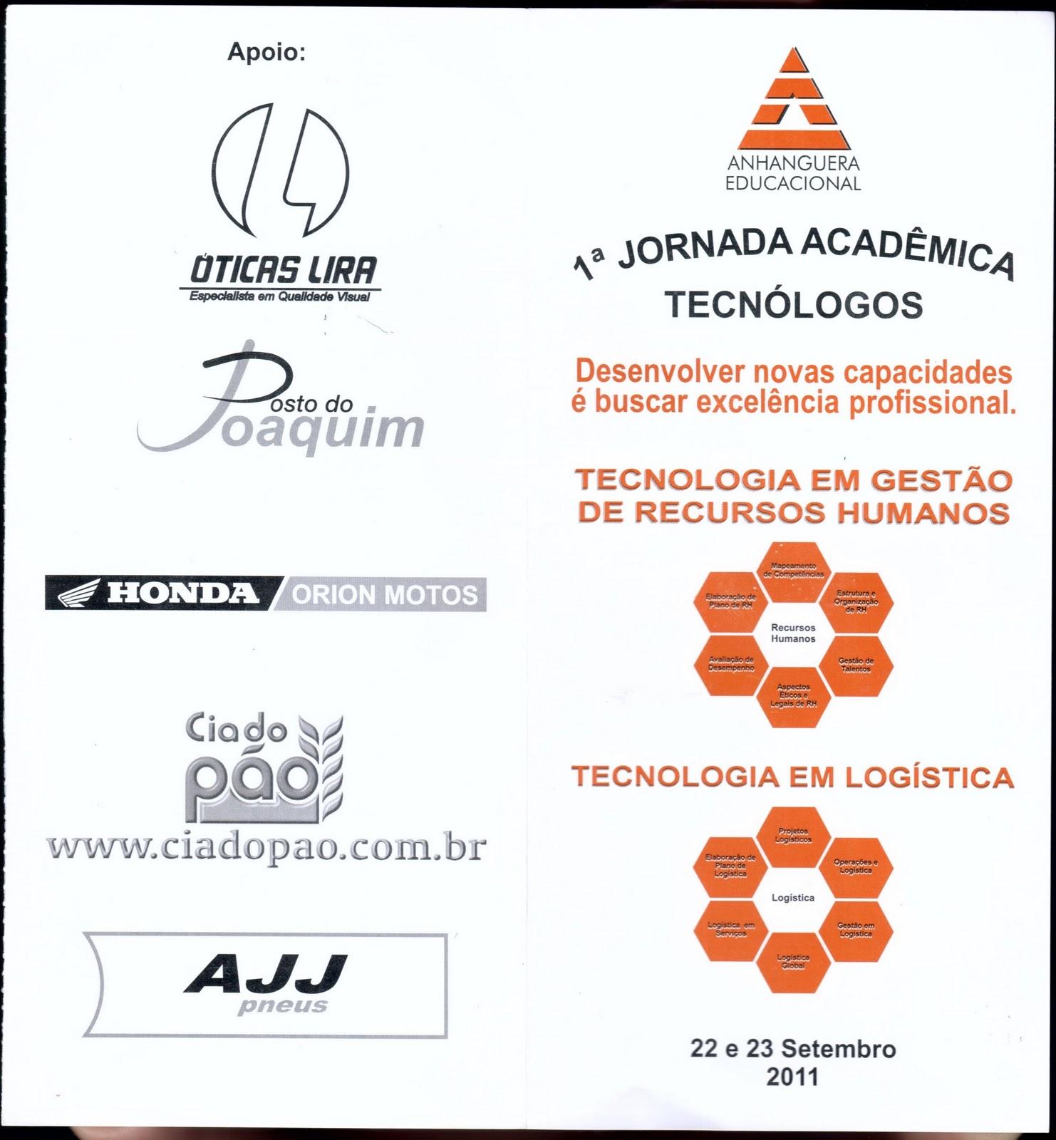 Palestra Sobre Direitos Autorais Na Faculdade Anhanguera   Folder