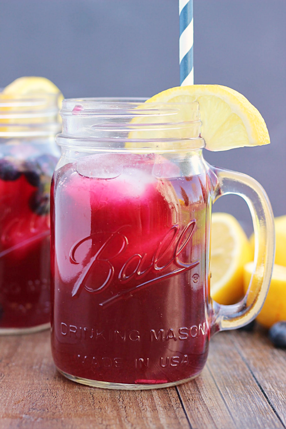 Blueberry Lavender Lemonade - Whats Cooking Love?