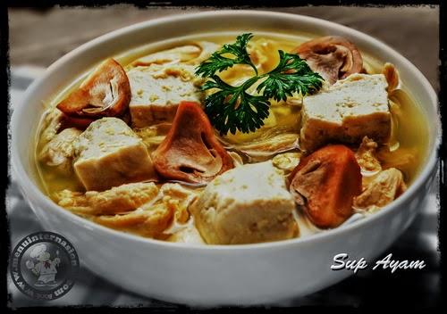 Cara Membuat Sup Ayam Segar Nikmat dan Mantap