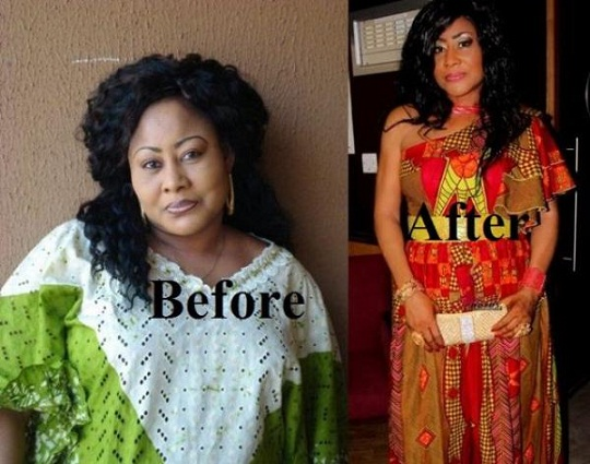 """I'm not sick, I'm watching my Weight""- Actress Ngozi Ezeonu chiomaandy.com"