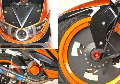 Demikianlah 10 Foto Modifikasi Motor Mio Soul GT 2013 yang mungkin  title=
