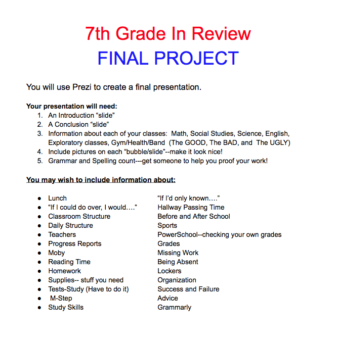 7th grade language arts worksheets printable