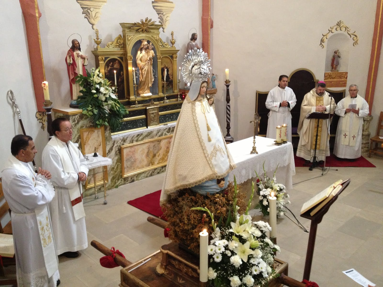 Fotogaleria: La Virgen de la Aliaga visita La Hoz de la Vieja. Diciembre 2013