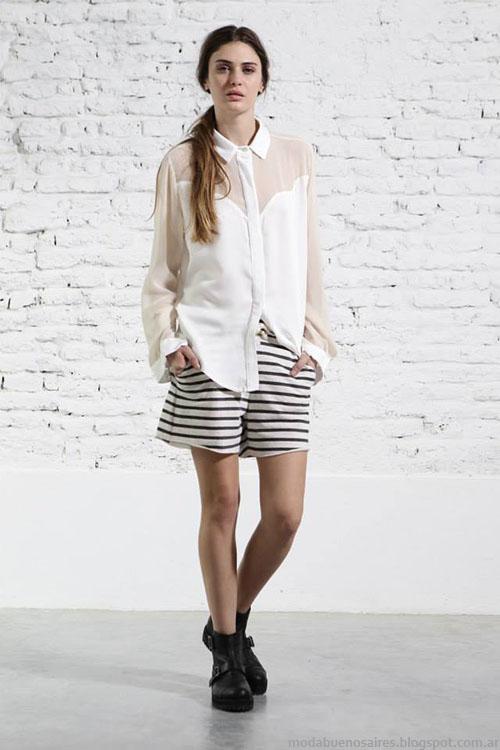 Camisas y blusas verano 2015 Melocotón.