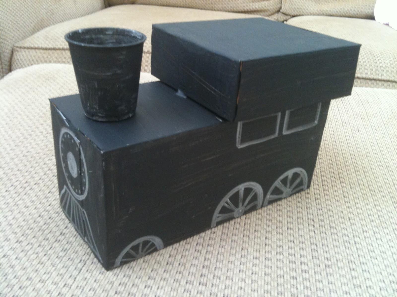 Cardboard Train Craft Cardboard Box Train Craft