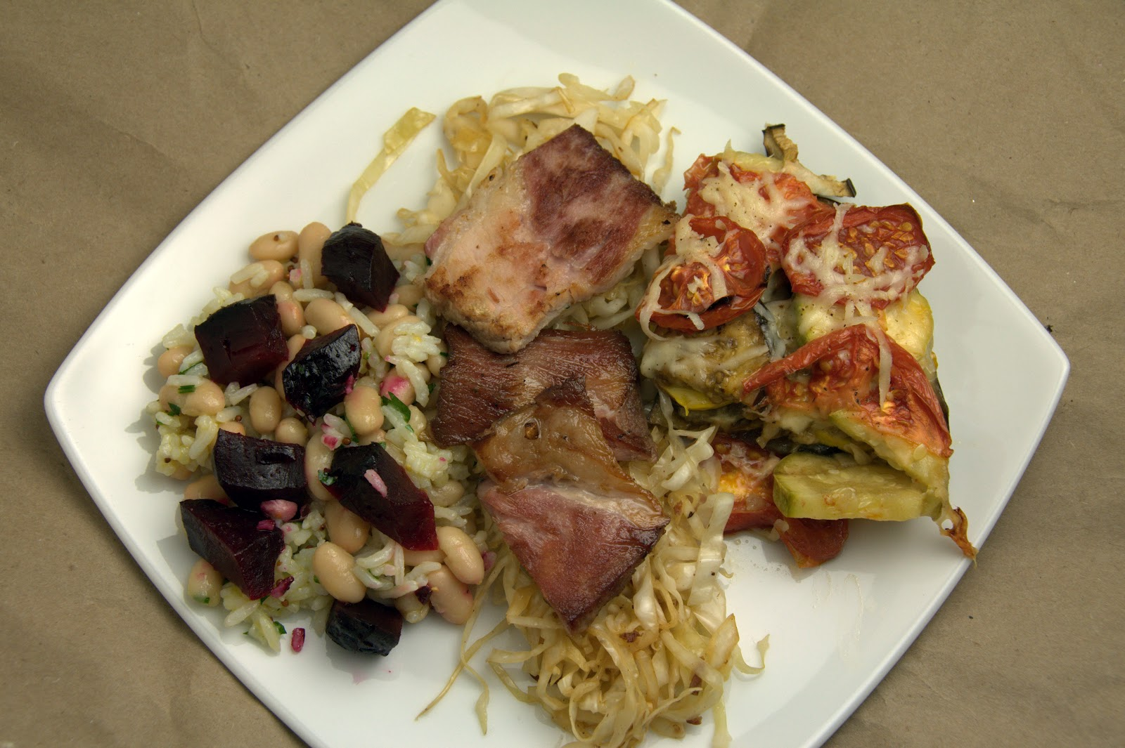 Sole Foodie: Roasted Beet, White Bean, and Rice Salad with ...