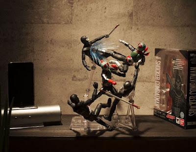 Bandai SH Figuarts Kamen Rider Shocker Combatmen Figure Sets