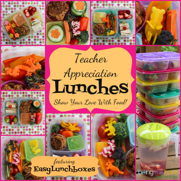 Teacher Appreciation or end of year gift - Lunch in a reusable lunchbox!