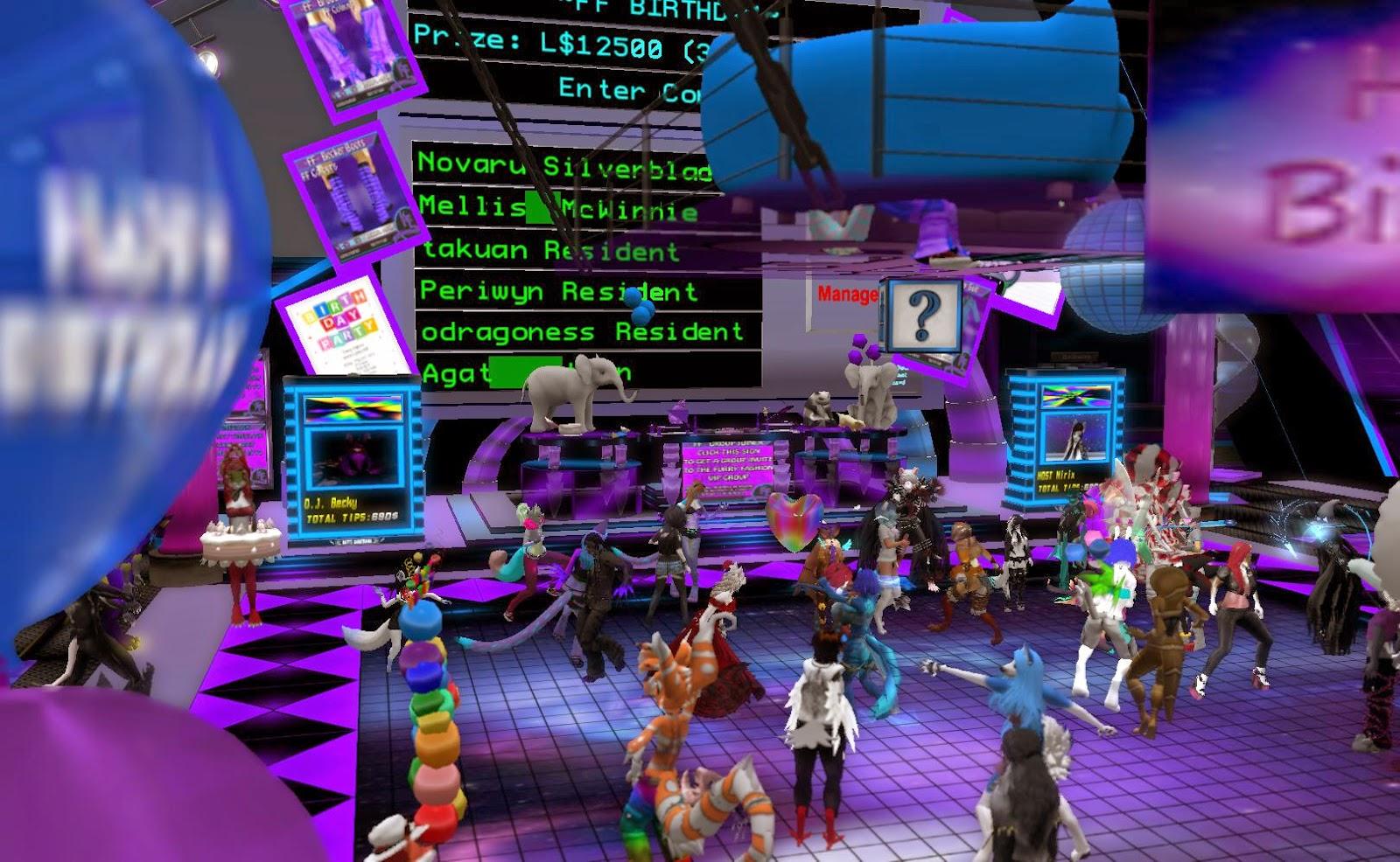 Second Life Newser: Furry Fashion Celebrates Eight Years