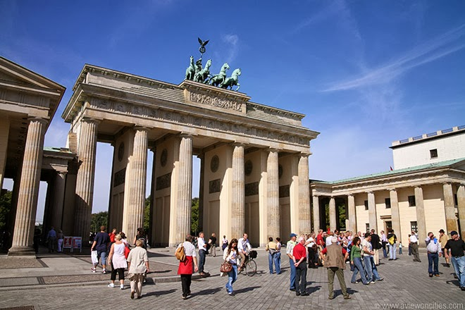 Brandenburger-Tor-at-Pariser-Platz