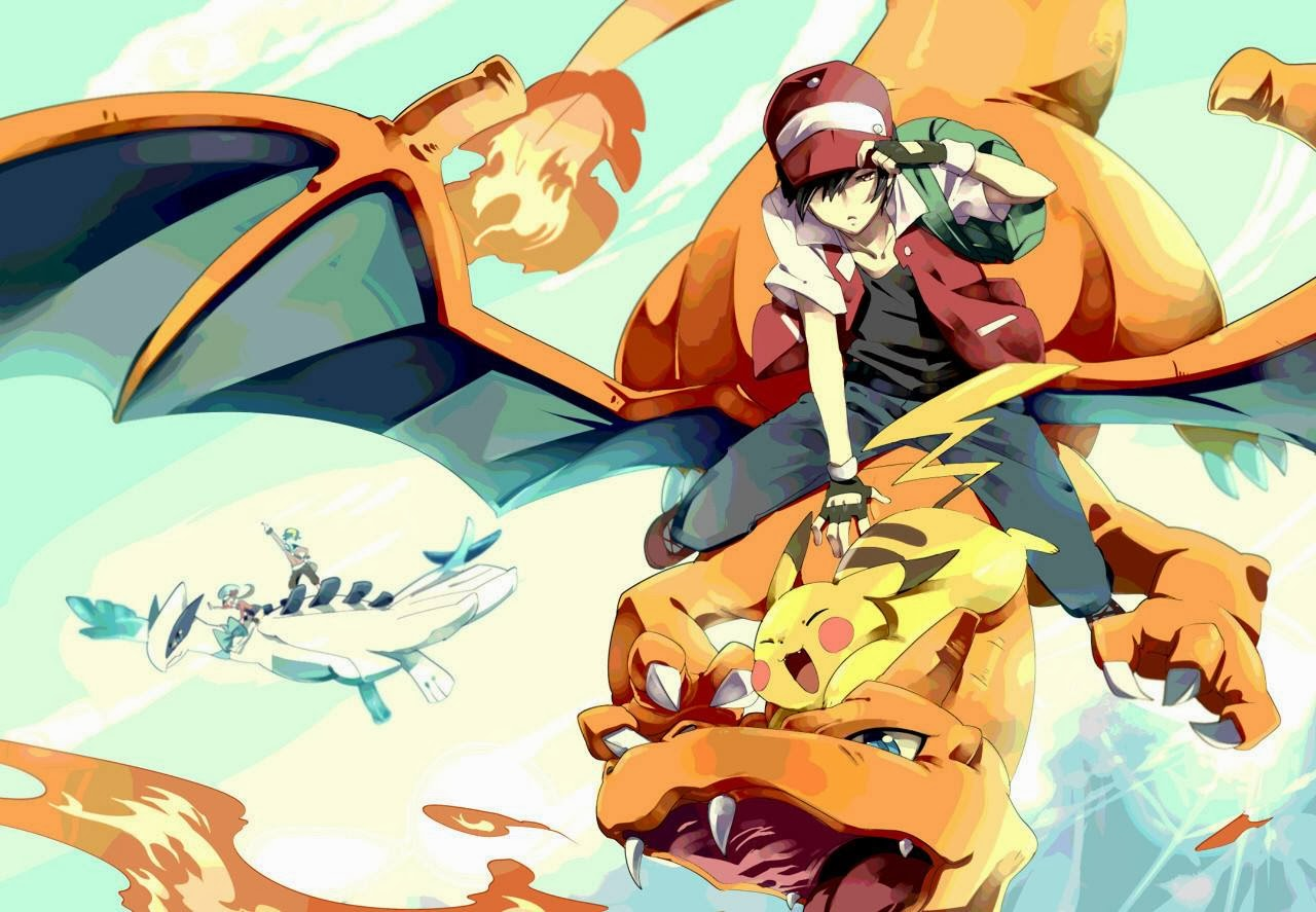 Charizard And Lugia