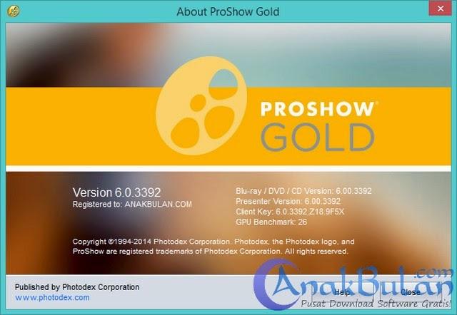 proshow gold 6.0.3410 full crack