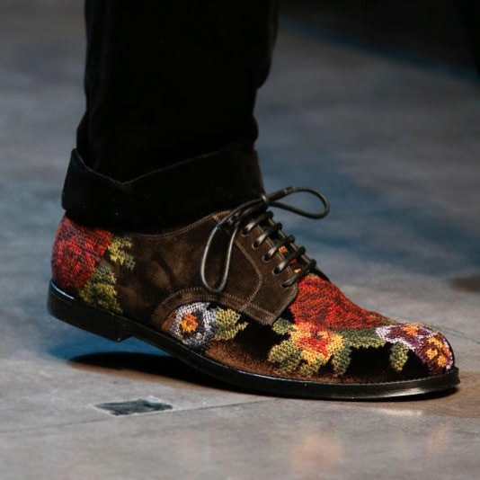 00O00 Menswear Blog Fall Winter 2013 Favourites Bottega Venata bag Missoni slippers Dolce Gabbana needlepoint shoes