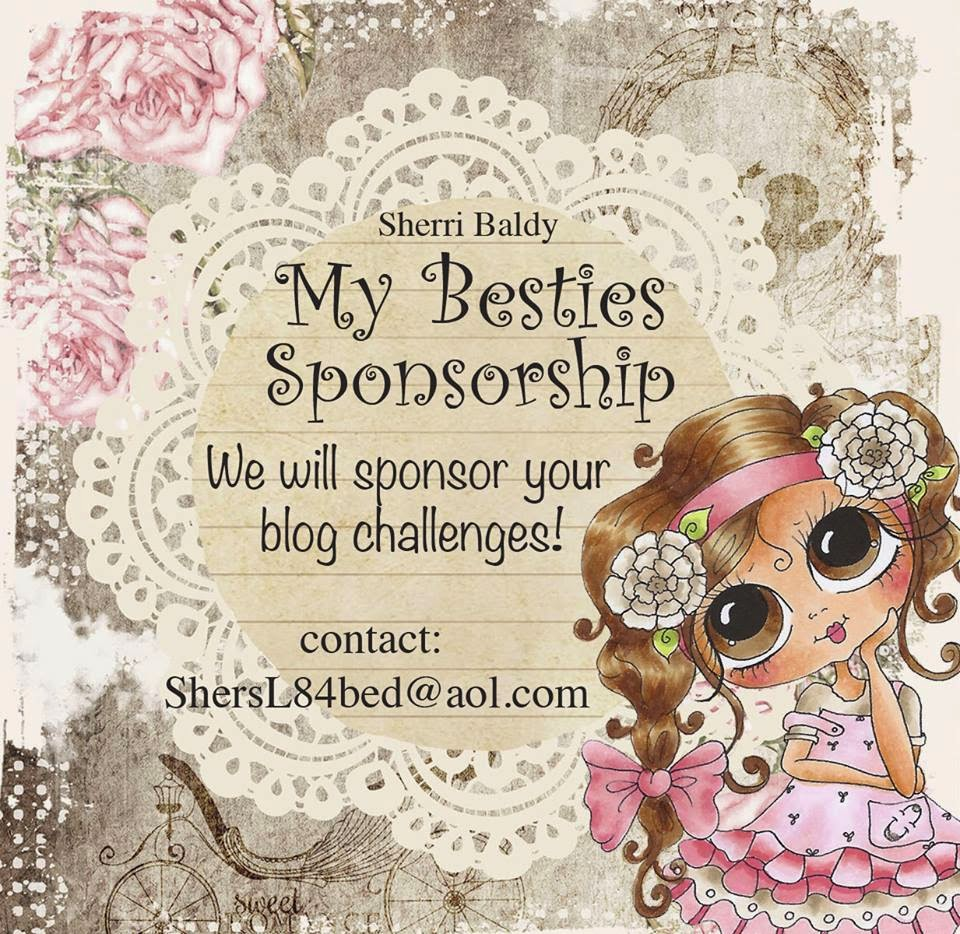 Sherri Baldy My Besties sponsort Challenge Blöcke