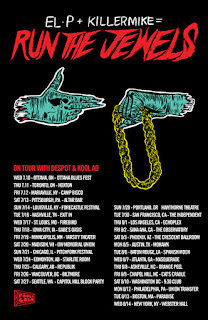 "El-P & Killer Mike are ""Run the Jewels"" Free Track and Summer Tour Announced"