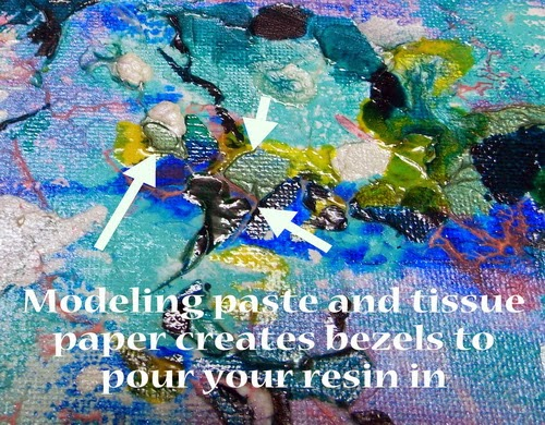 Roberta Birnbaum Look for Beauty resin art