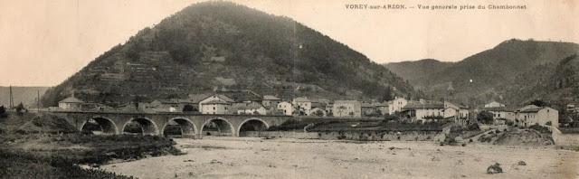 CPA haute Loire, Vorey