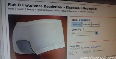 parche desodorante pedos