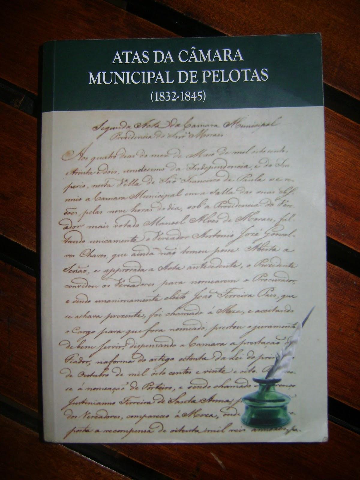 Público ou privado? As mudanças na estrada das tropas nas atas da Câmara Municipal de Pelotas/RS