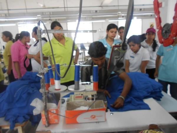 Good Shepherd Finishing School Visit To National Institute Of Fashion Technology Tirupur