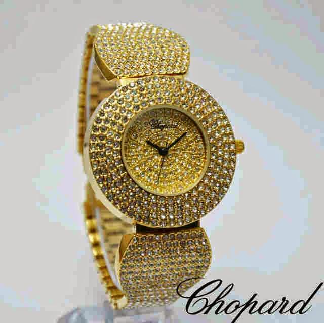 Chopard Full Diamonds gold