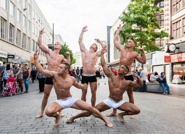 Urban Active men's underwear campaign