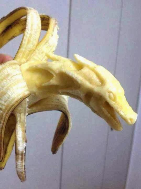 Khaleesi Dragon Made From Banana GAME OF THRONES