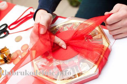 Как упаковать заколку в подарок 11