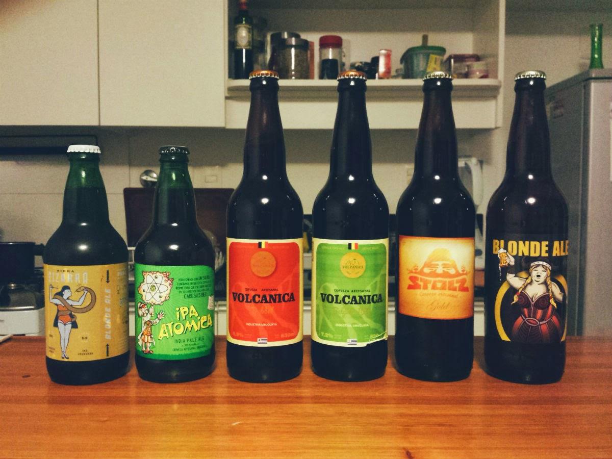 Marcas cervejas artesanais uruguaias