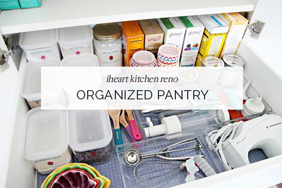 iheart organizing iheart kitchen reno an organized pantry - Kitchen Cabinet Organizers Ikea