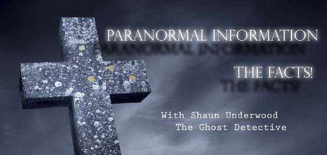 Paranormal,The Facts!