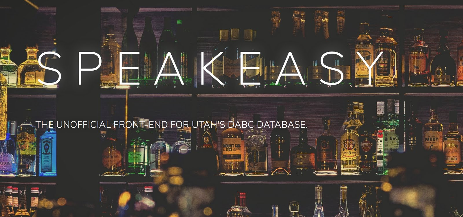 Speakeasy - Search the DABC