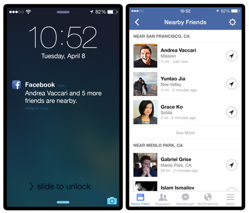 طريقة معرفة مكان تواجد اصدقائك على الفيس بوك