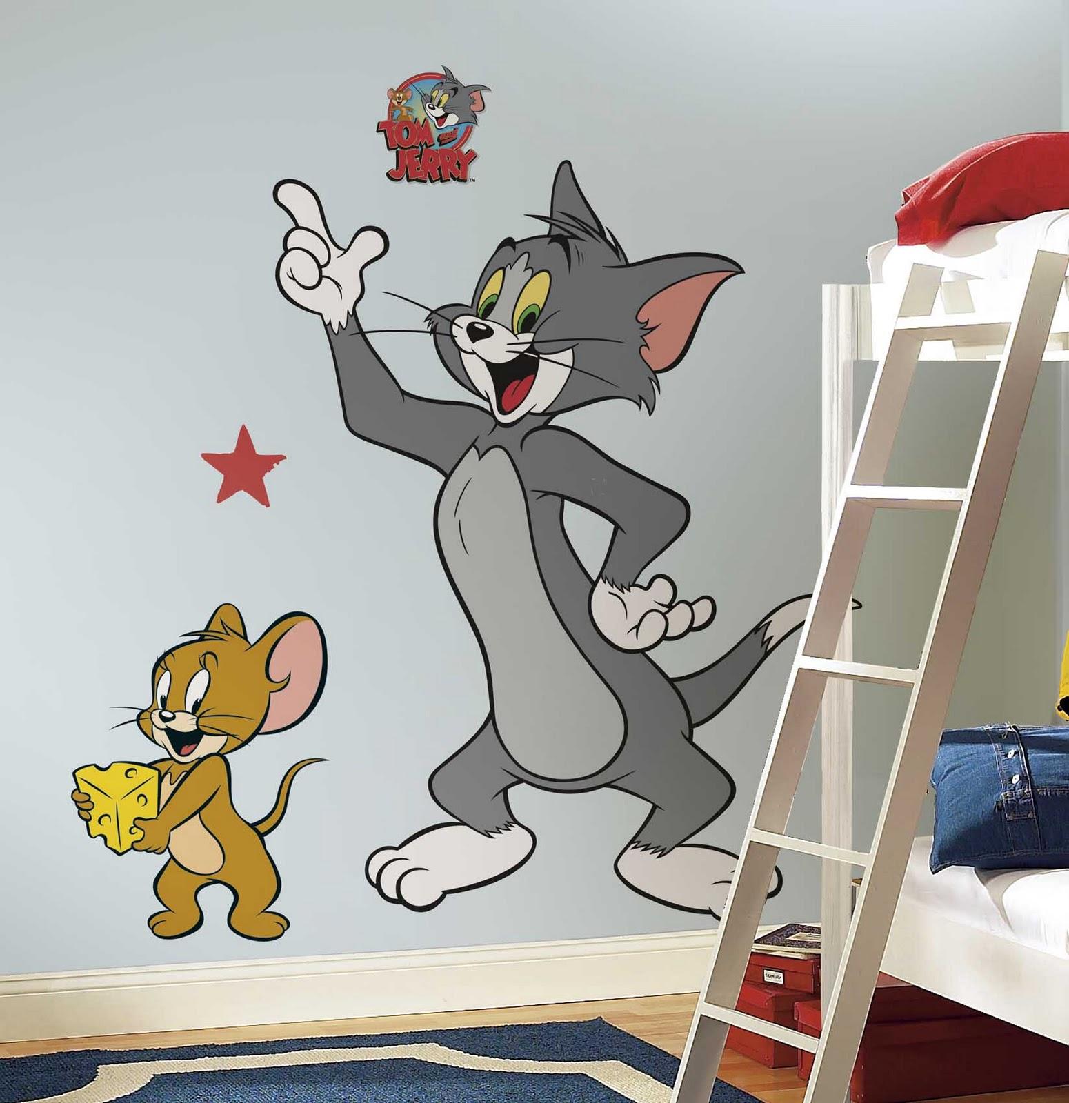 Best profile pictures tom jerry pictures - Dibujo pared habitacion infantil ...