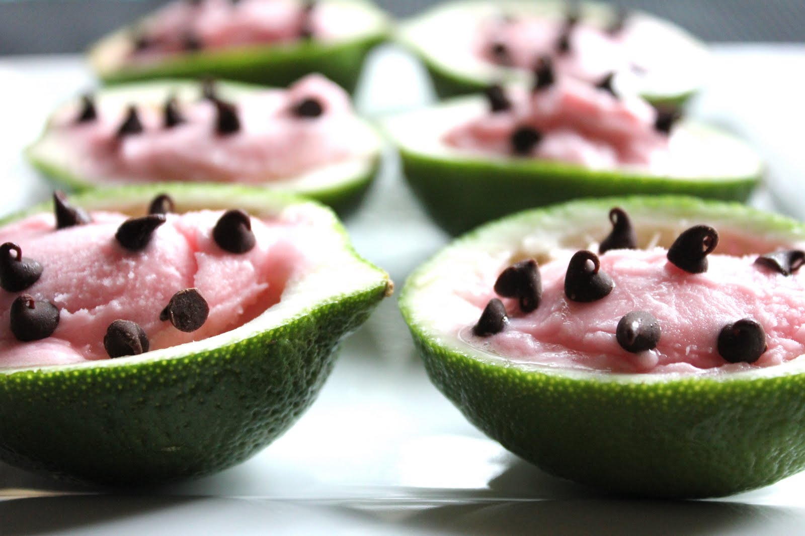 ValSoCal: Watermelon Sherbet Cups