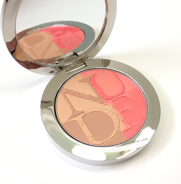 Dior Nude Tan Paradise  Coral Glow Blush and Bronzer Duo Birds of Paradise Summer 2013