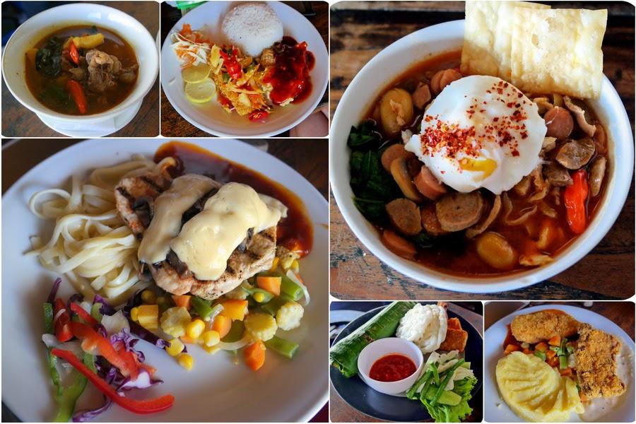 Menu Makanan & Minuman Lisung Restoran Bandung