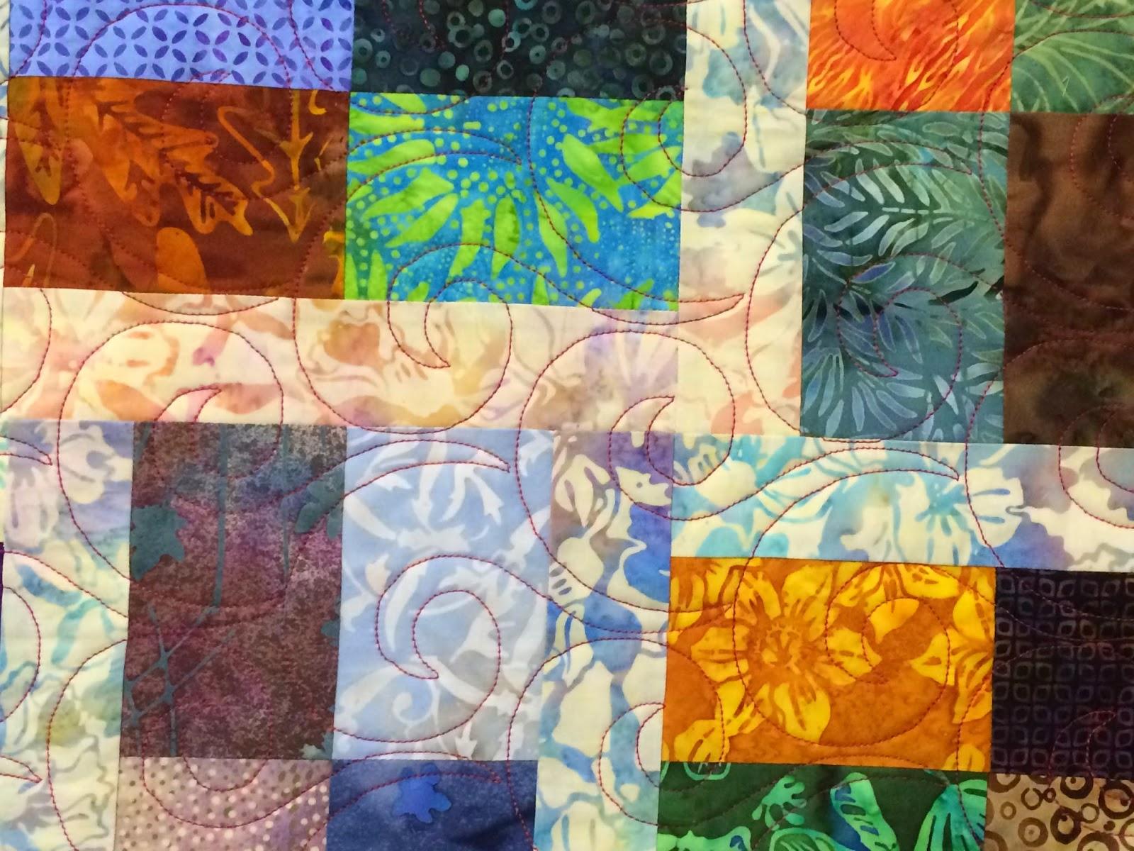 Cindy Manning's Batiks Quilt