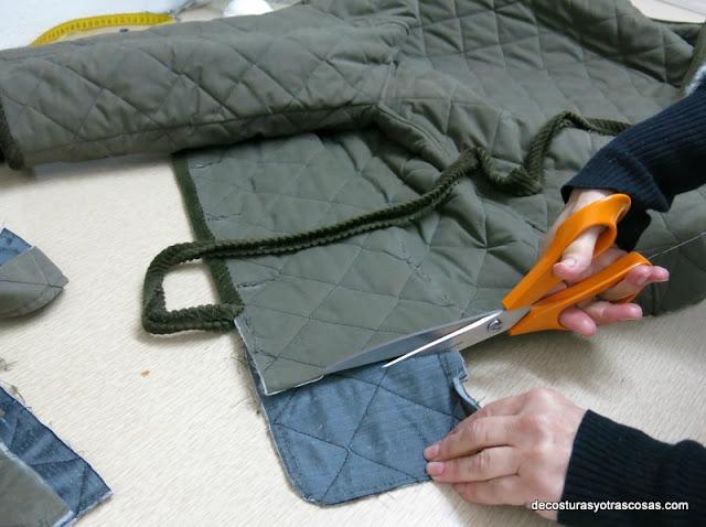como hacer una chaqueta de un chaquetón
