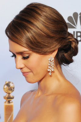 Jessica Alba Updos Hairstyle Lookbook