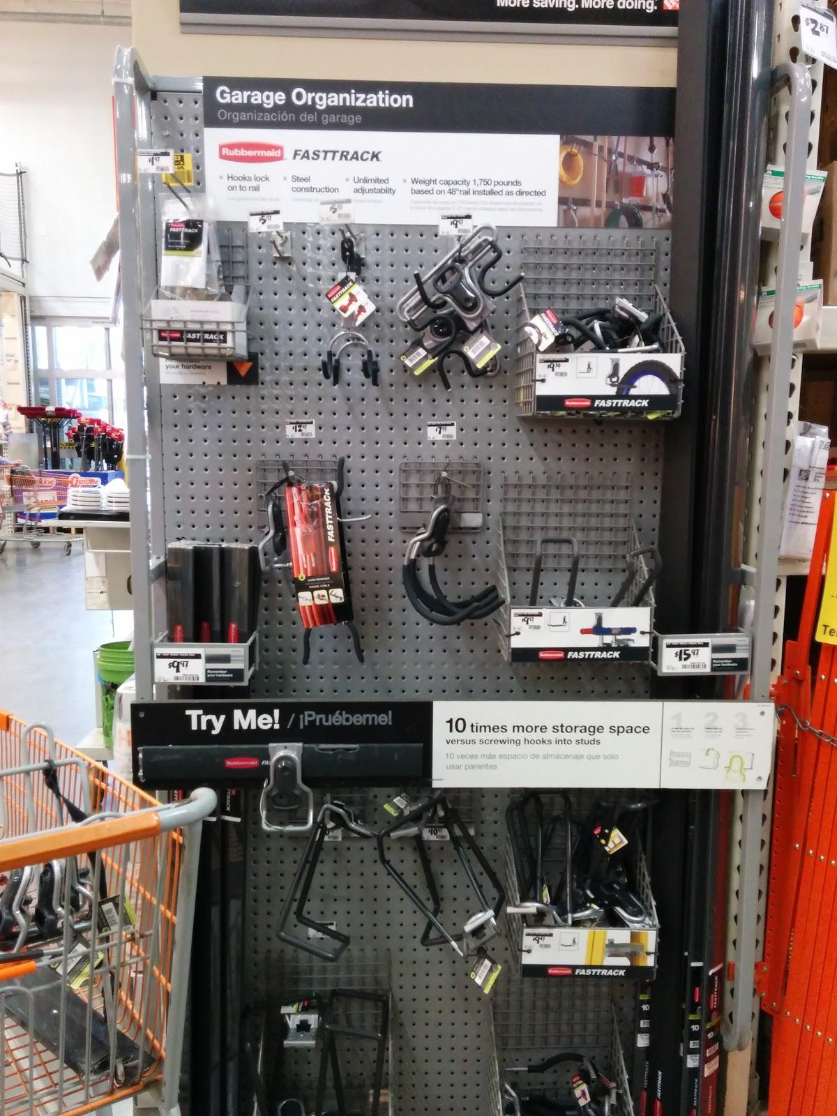 FastTrack Garage Organization. The best, easiest way to organize the garage.