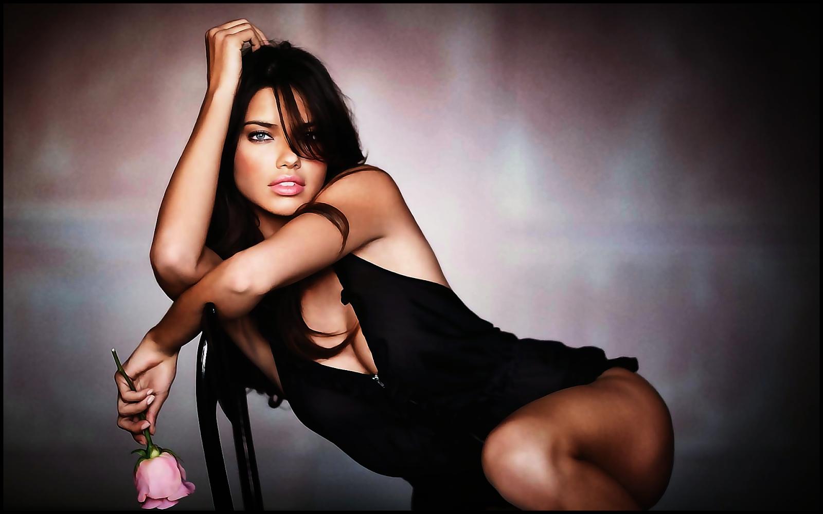 Adriana Lima Pink Rose