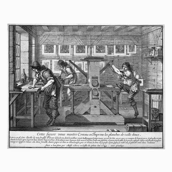 Abraham Bosse, Intaglio Printing.