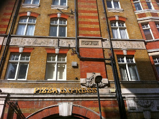 The former Dairy Supply Company Limited building, Coptic Street, London