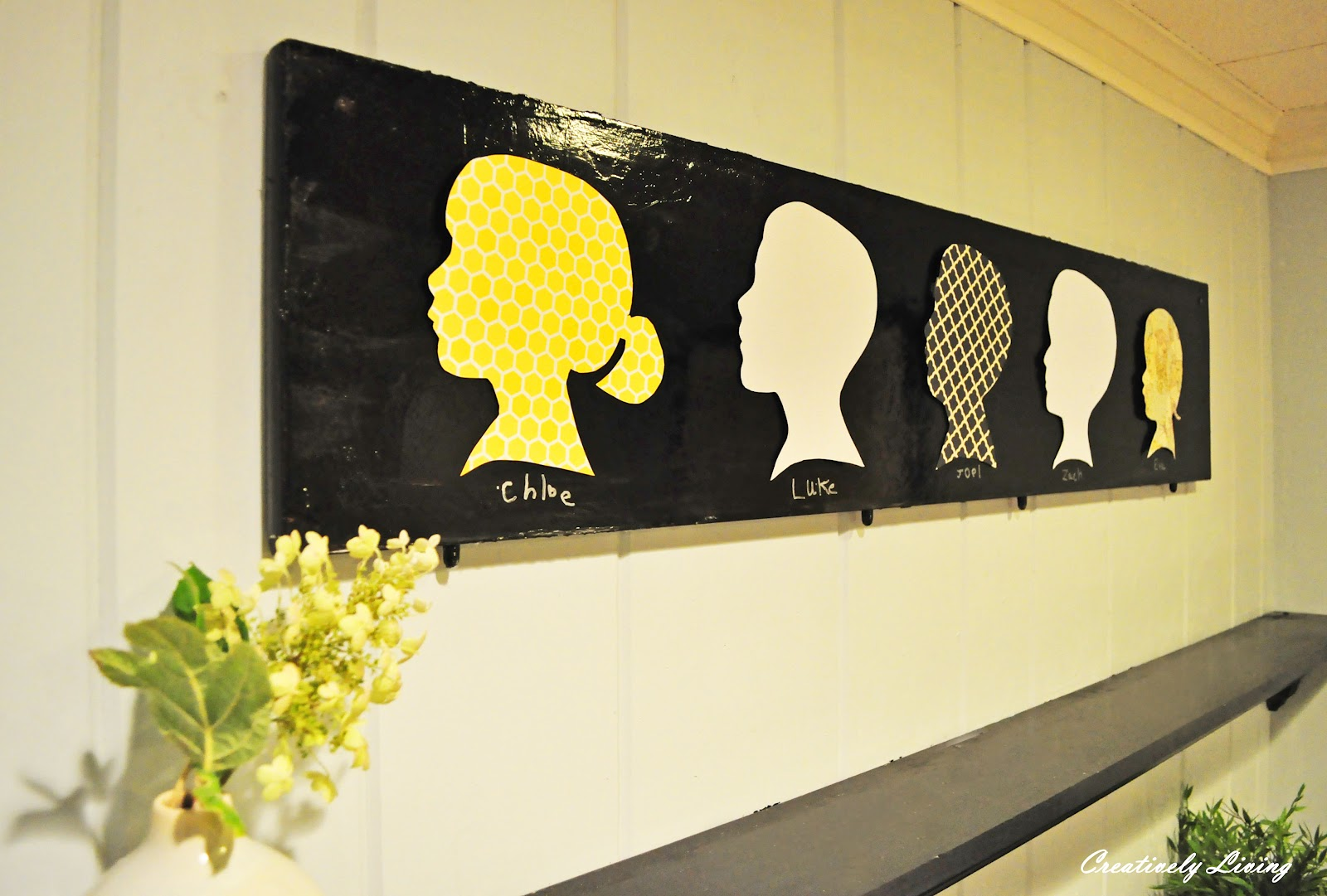 My Silhouette Art (With the Kids Wednesday!) - Creatively Living Blog